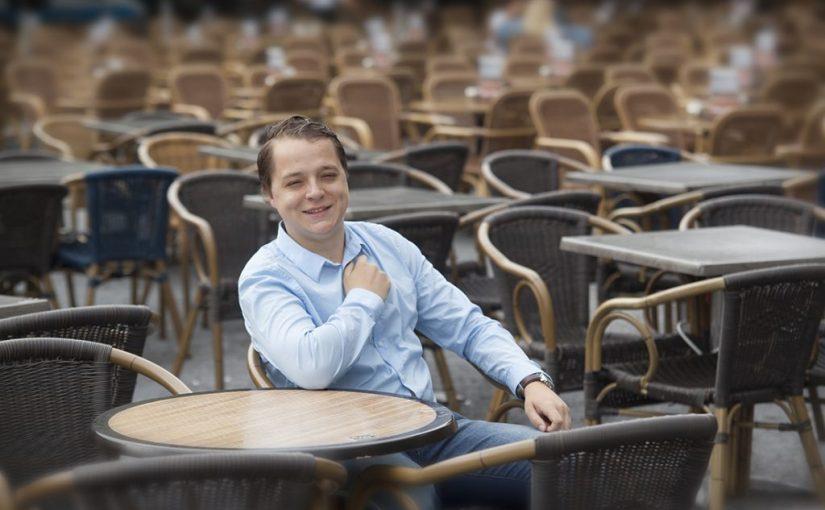 Medezeggenschapper Richard Gertsen: 'Studentenfracties zwepen elkaar op'